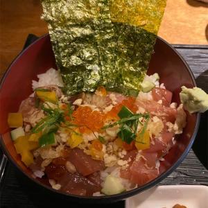 渋谷でランチ ワンコイン 漁丼
