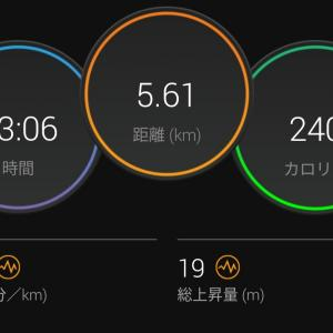JOG 30分 気楽にゆっくり走る