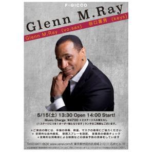 Glenn M.Ray Live@F.GICCO 成城学園に参加します。