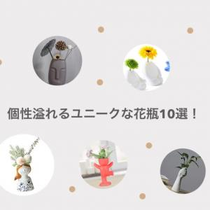 【2020年】ハイセンスすぎる!個性溢れるユニークな花瓶10選