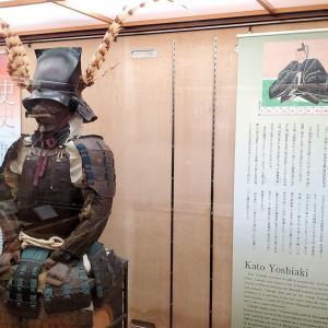 現存する松山城大天守の内部に展示されている鎧【愛媛旅行記⑨】