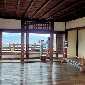江戸時代に造られた松山城天守閣から見れる景色とは【愛媛旅行記⑪】