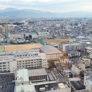 松山市内中心部にある観覧車「くるりん」に無料で乗れる方法【愛媛旅行記⑯】