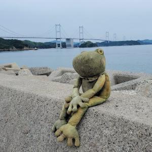 瀬戸内海の大島で、のんびり周遊道路をサイクリング【愛媛旅行記㉔】