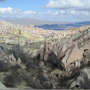 カッパドキア洞窟ホテル。