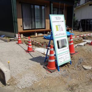 松本の工事現場