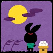 中秋の名月と十五夜と猿賀大祭