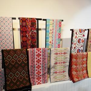 パレスチナ刺繍帯の展示会