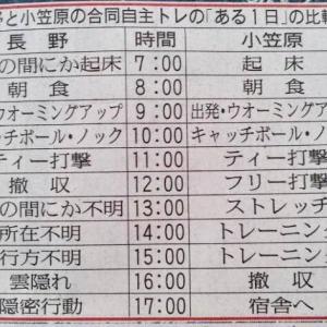 広島長野、広島駅で大正義巨人軍に闘魂注入