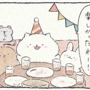 ぽんちゃん達がヤシノミ洗剤を紹介!①