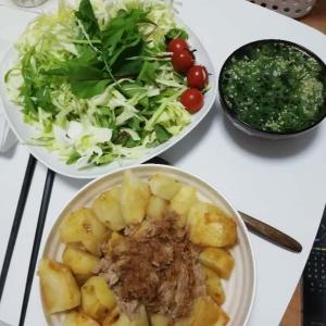 【画像】29歳独身一人暮らしの女の晩御飯がコチラ