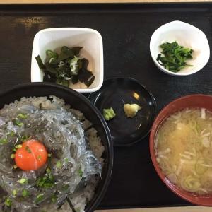 三大がっかり丼「ローストビーフ丼」「生しらす丼」「ウニ丼」