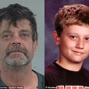 【画像】見られたくない写真を見た息子を殺害した父親のとんでもない写真をご覧ください