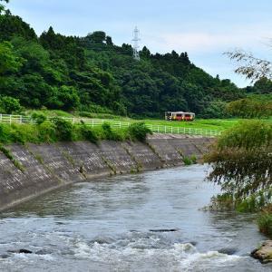 阿武隈川と水郡線