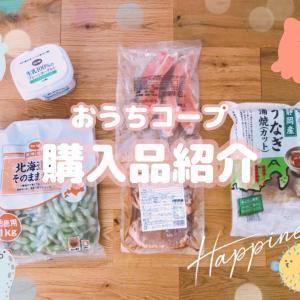 【おうちコープ購入品紹介】web加入で貰った3,000円分のポイントで鰻が無料!