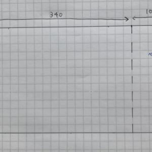 B4サイズノートカバー|製作過程
