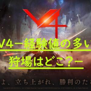 【MMORPG】V4-経験値が多く入る放置場所-