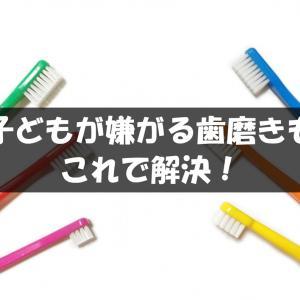 【2歳】子どもが嫌がる歯磨きもこれで解決!我が家の歯磨き必須アイテム