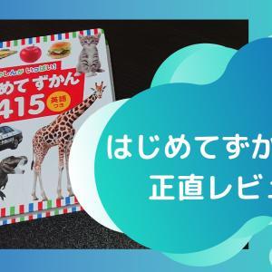 写真と英語が嬉しい!小学館「はじめてずかん415」購入レビュー【イマイチポイントも正直に】