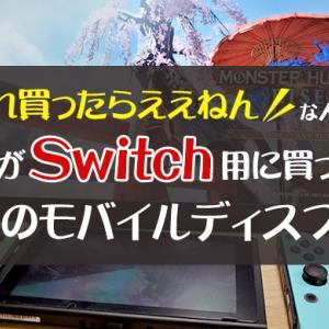 大成功!私がSwitch用に買ったモバイルディスプレイはコレ!【買って良かった】