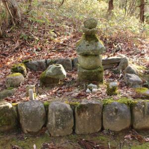 【池田町】志津原にある「将軍足利尊氏」の墓の謎