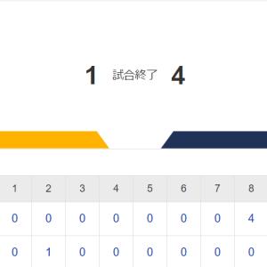 悪夢の8回!ホークス連勝12でストップ!