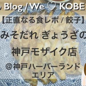 【正直なる神戸食レポ/餃子】神戸みそだれ ぎょうざの一休 神戸モザイク店をブログで口コミ@神戸ハーバーランド
