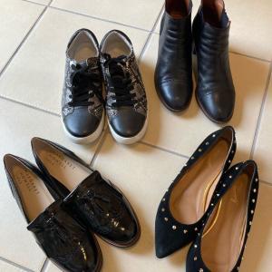 スタメンの靴は4足で