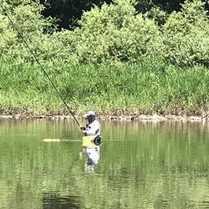 アユの友釣り 力一郎物語    その8 トロ場の釣り感