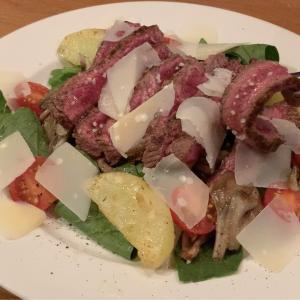 おうちイタリア料理簡単レシピ⭐牛肉のタリアータ