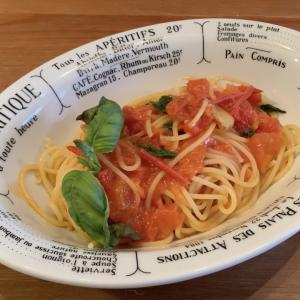 おうちイタリア料理簡単レシピ⭐フレッシュトマトのスパゲティ