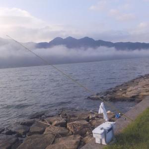 8月最初の釣りは、由良川を色々回りました。