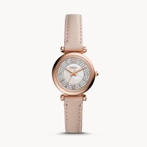 【使用歴6年の私が解説】手首が細い女性に似合う腕時計!FOSSILのレディースMINIウォッチ