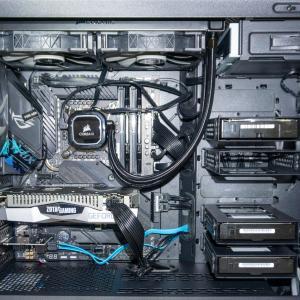 Core i9 10850Kで組む新しいパソコン その3