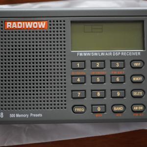 キャンプ用のラジオ
