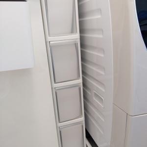 狭い脱衣所・洗面所におすすめの洗濯機横の隙間収納