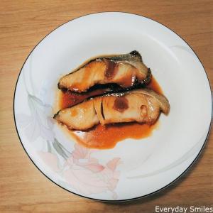 ホットクックレシピ:生臭くない魚(タラ・カレイ・赤魚・タイ)の煮つけ