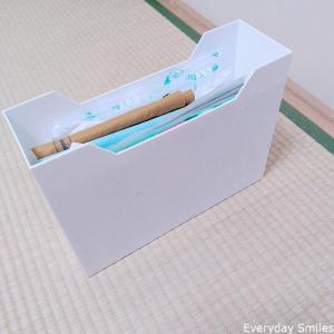 ショップバッグ(ショップ袋)の収納方法 しわになりにくくスッキリ
