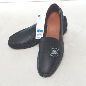 【GU】えっ!?本革靴が4000円以下!!??リアルレザーローファー☆