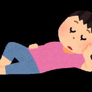 育児疲れで休憩【たまには夜食を】