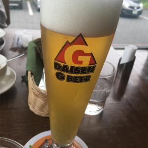 【続・大山Gビール】ランチとビールで乾杯