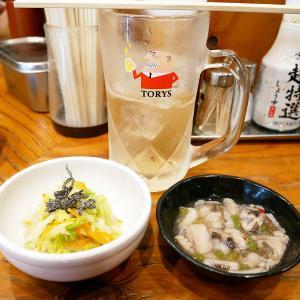 カフェでお茶より立ち飲みでハイボール!「千歳屋」@大阪天満