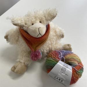 パピーの新作毛糸を編んでみました。
