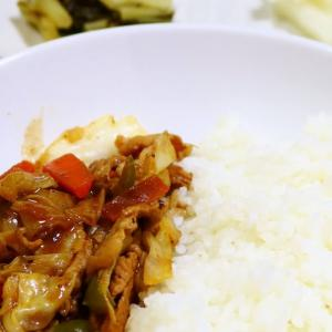 回鍋肉(丼)