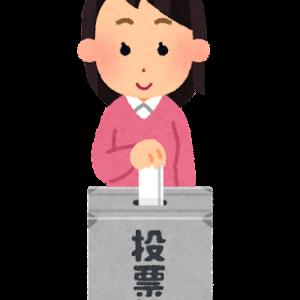 ×ネット投票 〇郵便投票