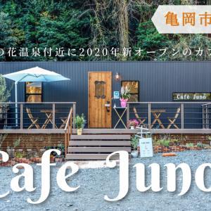 【Cafe Juno-カフェジュノ-】【亀岡市】2020年、湯の花温泉付近の坂の途中にカフェがオープン!犬もOK。