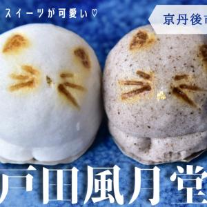 【戸田風月堂】《京丹後市》ネコスイーツが可愛い、峰山町の金比羅神社の近くにある和菓子屋さん!
