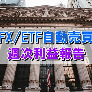 トラリピ、トライオートETFの利益は+132,229円【2021年3月1日週】