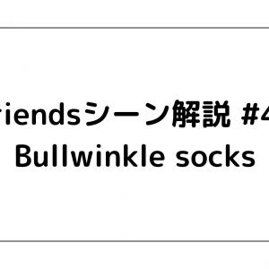 Friendsシーン解説 #49 「Bullwinkle socks」