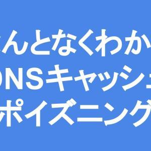 なんとなくわかる「DNSキャッシュポイズニング」